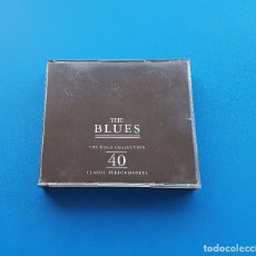 CDs de Música: THE BLUES. THE GOLD COLLECTION. 40 CLASSIC PERFOMANCE (2 CDS). Lote 90128636