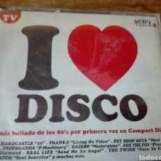 CDs de Música: I LOVE DISCO CD. Lote 90129710