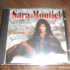 CDs de Música: RARÍSIMO CD DE SARA MONTIEL AMADOS MIOS PATROCINADO POR VIAJES LEVANTE PRECINTADO. Lote 90130264