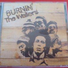 CDs de Música: BOB MARLEY & THE WAILERS. BURNIN CD ALBUM CON 13 TEMAS. REGGAE TUFF GONG 2001. Lote 90180072