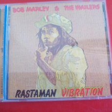 CDs de Música: BOB MARLEY & THE WAILERS. RASTMAN VIBRATION. CD ÁLBUM CON 11 TEMAS. REGGAE TUFF GONG 2001. Lote 90180592