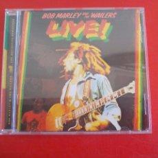 CDs de Música: BOB MARLEY & THE WAILERS. LIVE. CD ÁLBUM CON 8 TEMAS. REGGAE TUFF GONG 2001. Lote 90180692