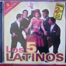 CDs de Música: LOS 5 LATINOS..RECOPILACION CD DOBLE...PEDIDO MINIMO 5€. Lote 90189108