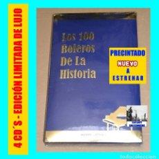 CDs de Música: LOS 100 CIEN BOLEROS DE LA HISTORIA - SONY BMG - VERSIONES ORIGINALES EDICIÓN LIMITADA - PRECINTADO. Lote 90196224