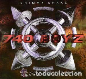 740 BOYZ, SHIMMY SHAKE - CD, MAXI-SINGLE SPAIN 1995