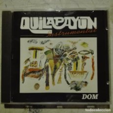 CDs de Música: QUILAPAYÚN - INSTRUMENTAL CD CHILE. Lote 90223444