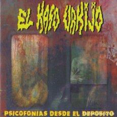 CDs de Música: EL KASO URKIJO - PSICOFONIAS DESDE EL DEPOSITO -GRIND CORE CARCASS NAPALM DEATH. Lote 194767762