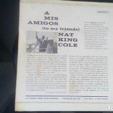 CDs de Música: SINGLE NAT KING COLE. Lote 90355448