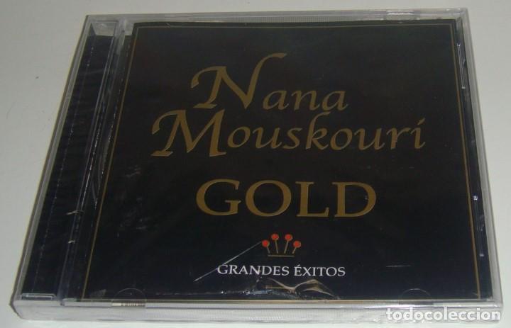 CD - NANA MOUSKOURI - GOLD - NUEVO Y PRECINTADO - MADE IN COLOMBIA - NANA MOUSKOURI - GRANDES EXITOS (Música - CD's Melódica )