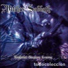 CDs de Música: WITCHES' SABBATH – DARKNESS KINGDOM COMING -EDICION EN FORMATO CD-R. Lote 194767688