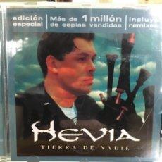 CDs de Música: HEVIA-TIERRA DE NADIE-EDICION ESPECIAL INCLUYE REMIXES-1999. Lote 90370887