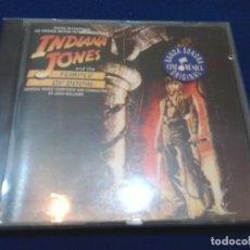 CDs de Música: INDIANA JONES: EN EL TEMPLO MALDITO. POLYDOR-521 001-2. AÑO 1984.. Lote 90433729