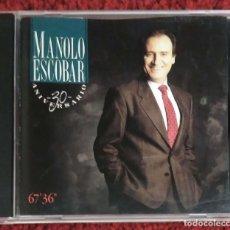 CDs de Música: MANOLO ESCOBAR (30 ANIVERSARIO) CD 1988 * 21 TEMAS. Lote 90438939