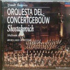 CDs de Música: DMITRI SHOSTAKOVICH - SINFONIA N. 5 EN RE MENOR OP.47. Lote 90400567