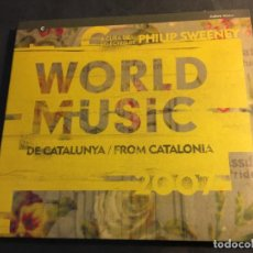 CDs de Música: WORLD MUSIC (FROM CATALONIA 2007) CD 20 TRACK ESPAÑA (CDI7). Lote 90478029