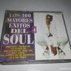 CDs de Música: 100 MAYORES EXITOS DEL SOUL CUADRUPLE CD 4 CD 1998 ESPAÑA THE JACKSON FIVE JAMES BROWN BOX SET PFSS. Lote 90494770