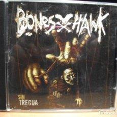 CDs de Música: BONESXHAWK SN TREGUA CD ALBUM TRIPLE METAL AVISPA. Lote 90509035