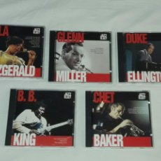 CDs de Música: LOTE DE 5 CDS MAESTROS DEL JAZZ BLUE. Lote 90522762