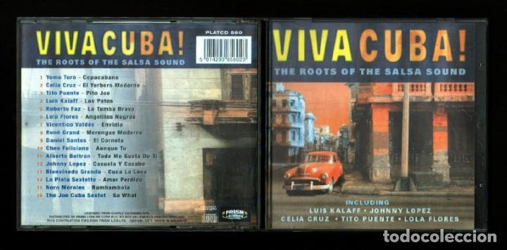 VIVA CUBA  THE ROOTS OF THE SALSA SOUND  - CD-VARIOS-1375