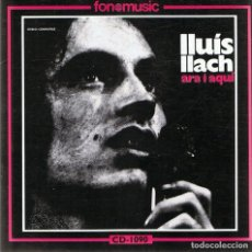 CDs de Música: CD LLUÍS LLACH ¨ARA I AQUͨ. Lote 90636750