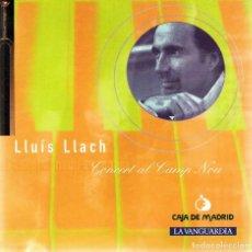 CDs de Música: CD LLUÍS LLACH ¨CONCERT AL CAMP NOU¨. Lote 90636955