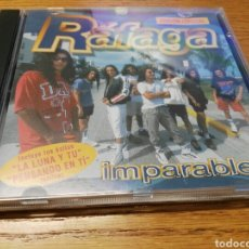 CDs de Música: CD RÁFAGA IMPARABLES - 12 EXITOS COMO NUEVO. Lote 90638125