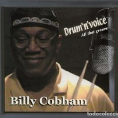 CDs de Música: BILLY COBHAM - DRUM 'N' VOICE - ALL THAT GROOVE - CD DIGIPACK. Lote 90716085