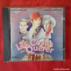 CDs de Música: CD LAS COSAS DEL QUERER. ANGELA MOLINA Y MANUEL BANDERA. Lote 90782985