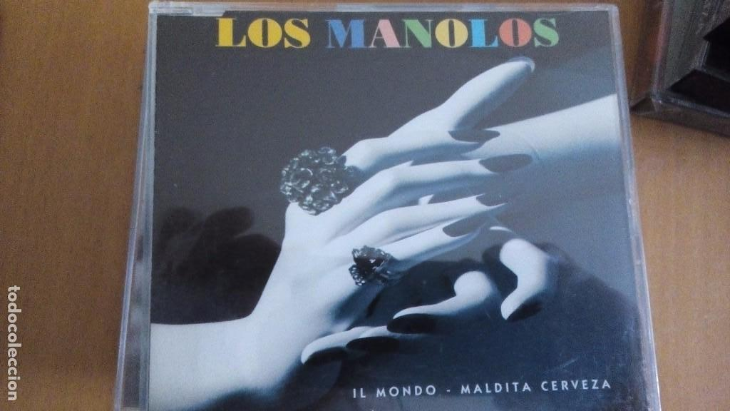 LOS MANOLOS IL MONDO MALDITA CERVEZA CD SINGLE (Música - CD's Rock)