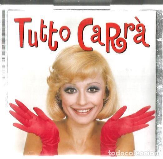 DOBLE CD RAFFAELLA CARRÀ : TUTTO CARRÀ (EDICION SONY MUSIC ESPAÑA, 1999) EN ESPAÑOL ITALIANO, INGLES (Música - CD's Otros Estilos)