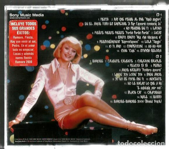 CDs de Música: DOBLE CD RAFFAELLA CARRÀ : TUTTO CARRÀ (EDICION SONY MUSIC ESPAÑA, 1999) EN ESPAÑOL ITALIANO, INGLES - Foto 2 - 90913730