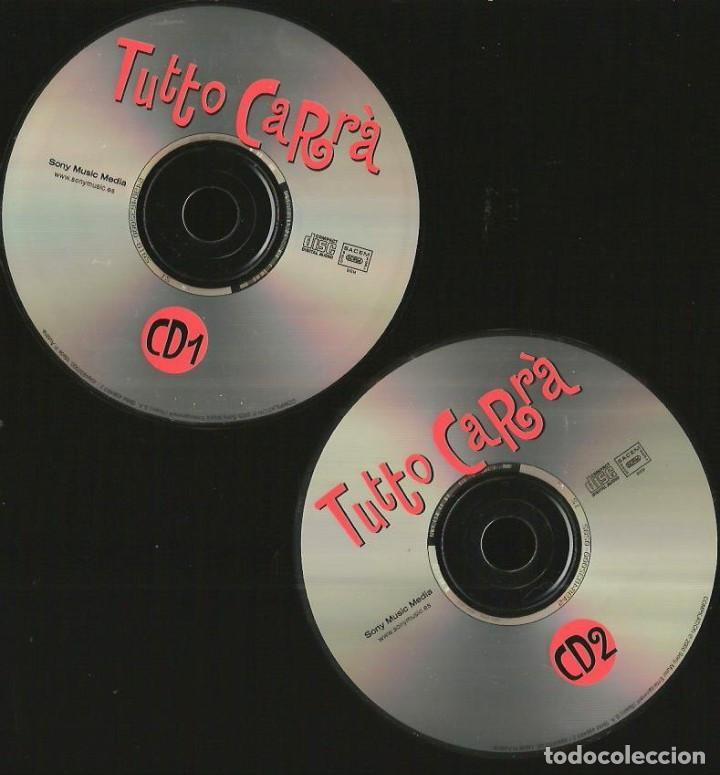 CDs de Música: DOBLE CD RAFFAELLA CARRÀ : TUTTO CARRÀ (EDICION SONY MUSIC ESPAÑA, 1999) EN ESPAÑOL ITALIANO, INGLES - Foto 3 - 90913730