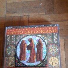 CDs de Música: CDS DOBLE DE CANTO GREGORIANO . Lote 90994608