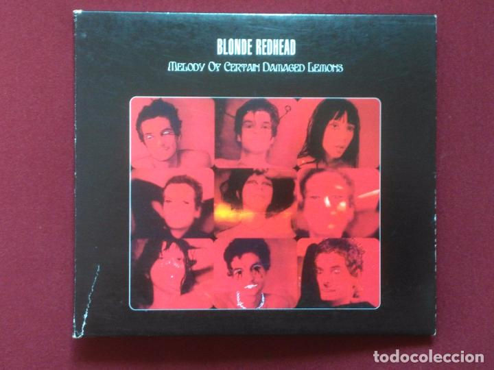 BLONDE REDHEAD-MELODY OF CERTAIN DAMAGED LEMONS (CD DIGIPAK.TOUCH AND GO.2000) SIMILAR: SONIC YOUTH. (Música - CD's Rock)