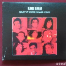 CDs de Música: BLONDE REDHEAD-MELODY OF CERTAIN DAMAGED LEMONS (CD DIGIPAK.TOUCH AND GO.2000) SIMILAR: SONIC YOUTH.. Lote 91241550