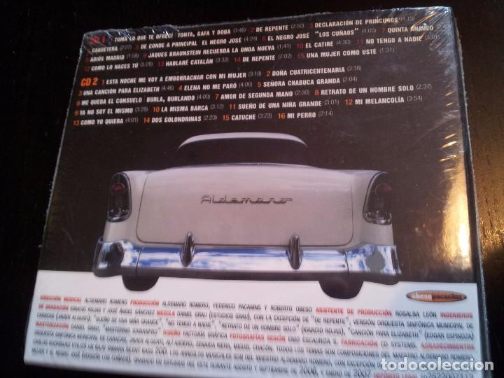 CDs de Música: ALDEMARO ROMERO Y SU MÚSICA / 2 CD PRECINTADO - Foto 2 - 91266250