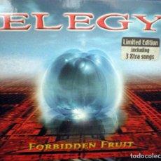 CDs de Música: ELEGY – FORBIDDEN FRUIT CD DIGIPAK PROG ROCK, HEAVY METAL . Lote 91279310