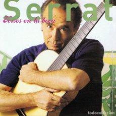 CDs de Música: CD SERRAT ¨VERSOS EN LA BOCA¨. Lote 91281970