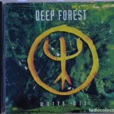 CDs de Música: DEEP FOREST - WORLD MIX (CD) 1994 - 15 TEMAS. Lote 91297820