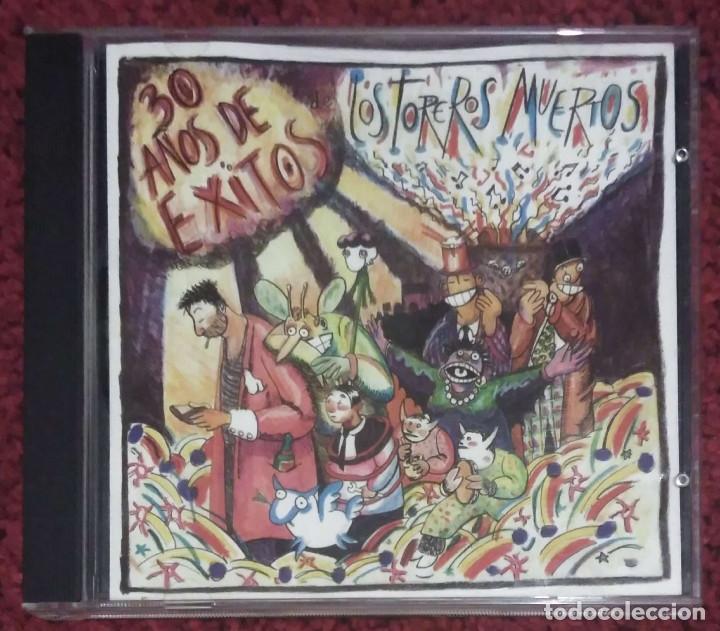 LOS TOREROS MUERTOS (30 AÑOS DE EXITOS) CD 1986 (Música - CD's Rock)