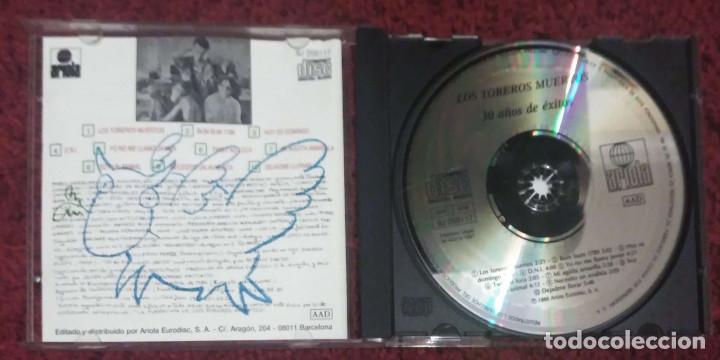 CDs de Música: LOS TOREROS MUERTOS (30 AÑOS DE EXITOS) CD 1986 - Foto 3 - 91312975