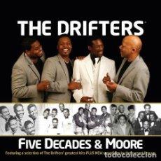 CDs de Música: THE DRIFTERS * CD *FIVE DECADES & MOORE * PRECINTADO * RARE. Lote 91317810