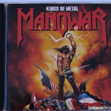 CDs de Música: MANOWAR - KINGS OF METAL (CD) 1988 - 10 TEMAS. Lote 91335190