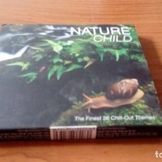 CDs de Música: NATURE CHILD. DOBLE CD. THE FINEST 26 CHILL-OUT THEMES. Lote 91356795