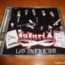 CDs de Música: LUJURIA LAS MAQUETAS CD ALBUM DEL AÑO 2005 HEAVY ESPAÑOL CONTIENE 10 TEMAS. Lote 91383385