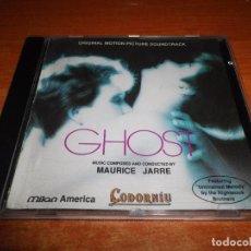 CDs de Música: GHOST BANDA SONORA EDICION ESPECIAL PARA CAVAS CODORNIU CD PROMO 1994 MUSICA DE MAURICE JARRE. Lote 91461265