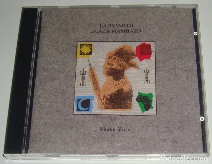 CD - LADYSMITH BLACK MAMBAZO - SHAKA ZULU - JOSEPH SHABALALA (Música - CD's World Music)