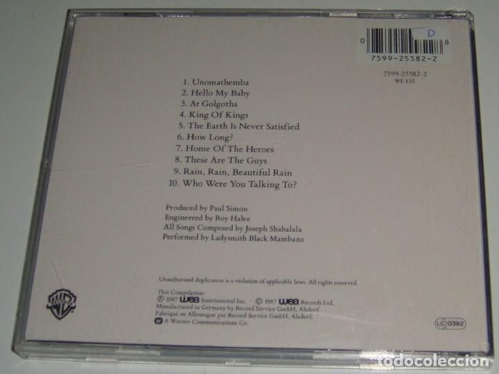 CDs de Música: CD - LADYSMITH BLACK MAMBAZO - SHAKA ZULU - JOSEPH SHABALALA - Foto 2 - 91529590
