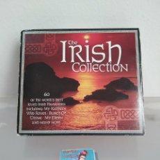 CDs de Música: 3CD. THE IRISH COLECTION. MUSICA CELTA. Lote 91533194