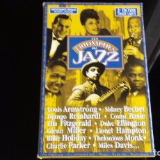 CDs de Música: CAJA 20 CD'S JAZZ EDIC LIMITADA (INCLUYE LIBRO BIOGRAFÍA INTERPRETES EN FRANCES). Lote 91573655